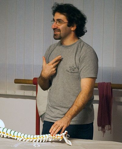 ivan pisani insegnante ortho-bionomy